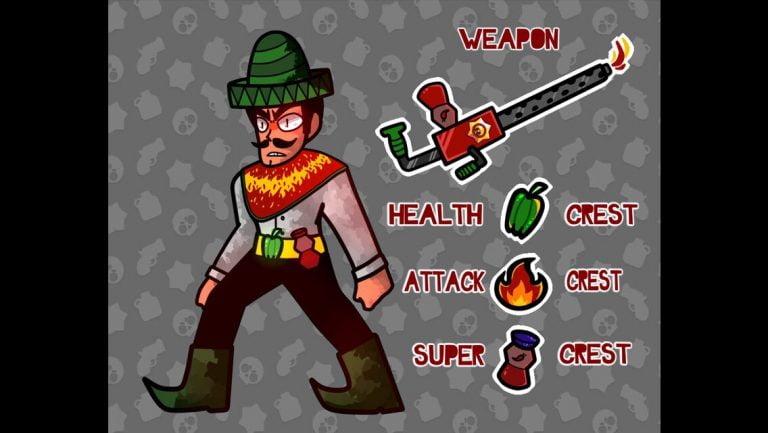 Concepto del peleador: Hal Empeno