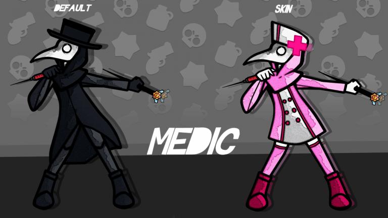 Concepto Brawler: Médico